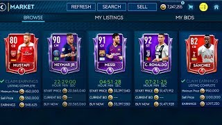 How I Made Millions In Fifa 19 Mobile ! Ronaldo, Neymar And Messi Masters In Fif