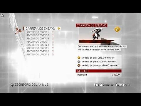 Assassin's Creed Brotherhood | Entrenamiento virtual | Carrera libre | Carrera de ensayo | Oro