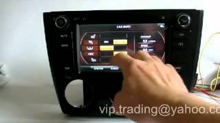 DVD GPS BMW 1 series E81 E82 E87 E88 Manual AC SatNav Sat Nav Uses DYNAVIN DVB-T DVBT