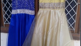 how to stitch a beautiful gown