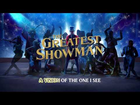 The Greatest Showman Cast - A Million Dreams (Reprise) [Instrumental] (Lyric Video)
