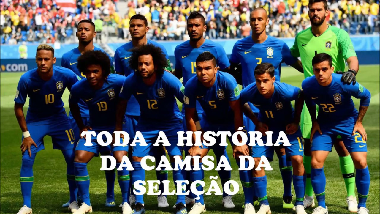 13dd1c5e77b47 A História da Camisa da Seleção Brasileira de Futebol. Ellegancy Costuras  Atelier