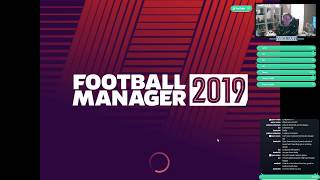 [LIVE] Football Manager 19 - create a club