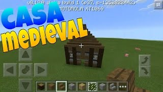 Casa Medieval Tutorial Minecraft PE 0 13 0 YouTube