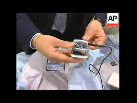 A solar powered jacket can recharge  electronic devices