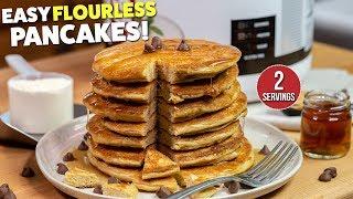 The Best Flourless PROTEIN Pancakes