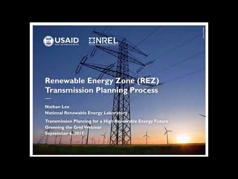 Transmission Planning, Renewable Energy Futures, and Competitive Renewable Energy Zones