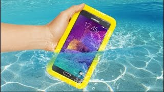 Samsung Galaxy Note 4 Waterproof Case Review - Water Test