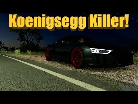 Forza Horizon 3 The DEATH R8 - Koenigsegg KILLER! New Fastest Car?