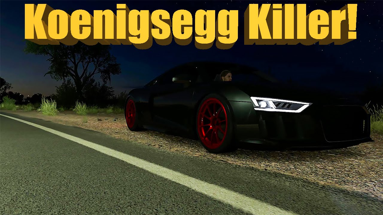 Forza Horizon 3 The DEATH R8   Koenigsegg KILLER! New Fastest Car?   YouTube