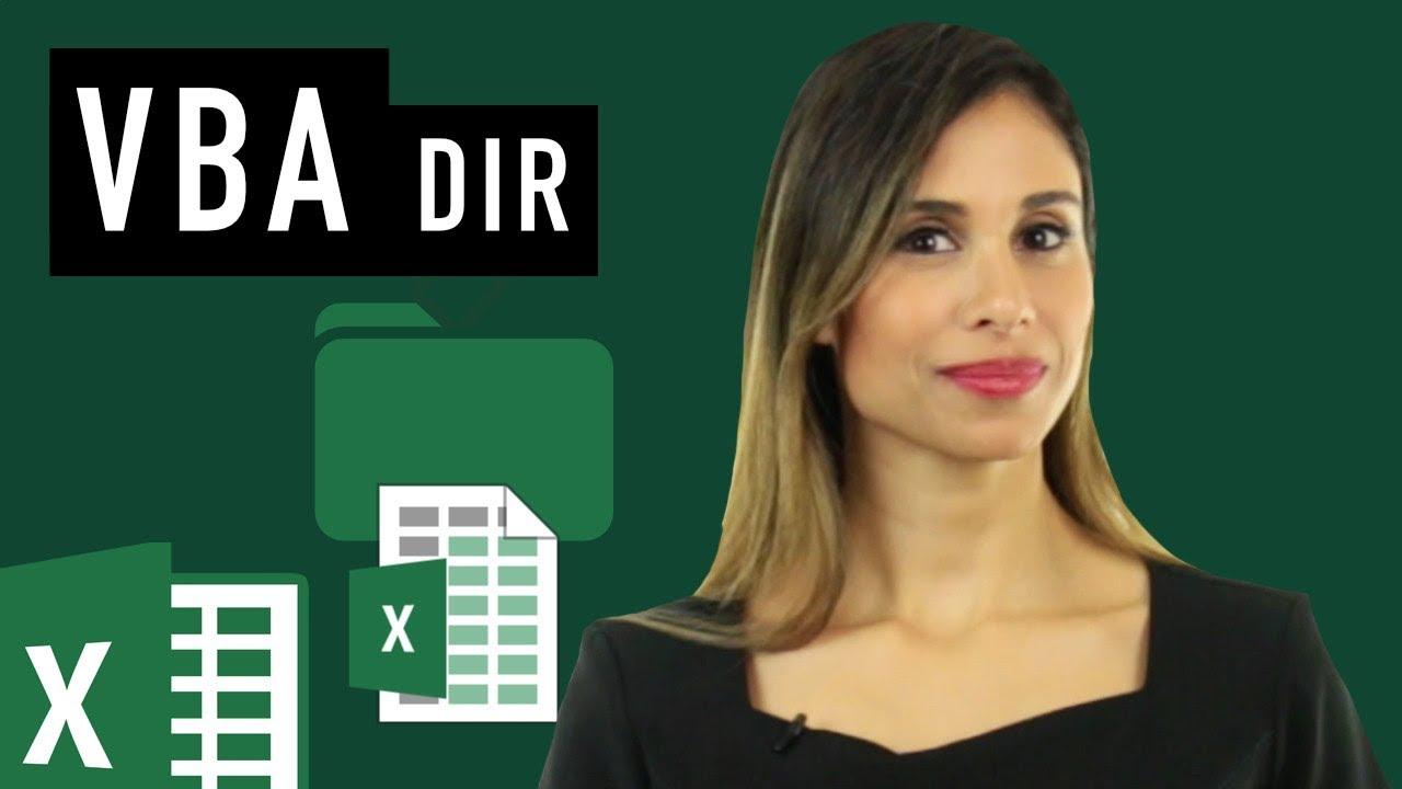 Excel VBA: Check If File or Folder Exists (DIR) – Open File or Create Folder