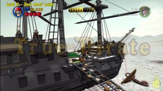 Lego Pirates of the Caribbean: Level 12 Davy Jones Locker - Story Walkthrough - HTG