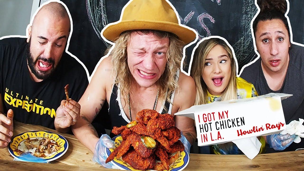Spiciest Chicken in LA Challenge with Chachi Gonzales!