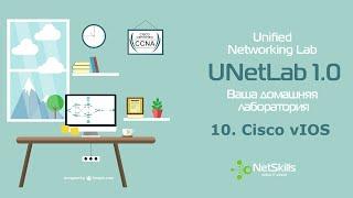 10.UNetLab. Cisco vIOS