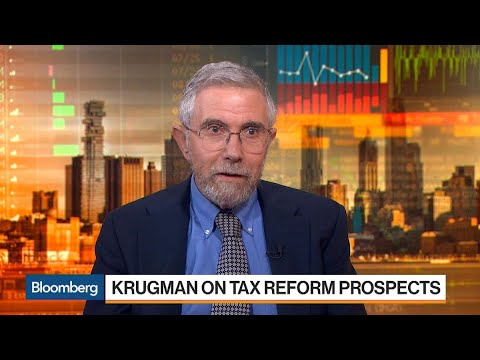 Krugman Praises Paul Ryan's Corporate Tax Reform Plan