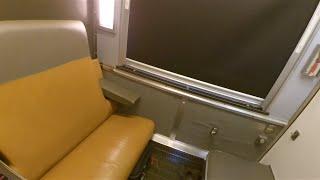 VIA Rail Sleeper - Roomette Tour