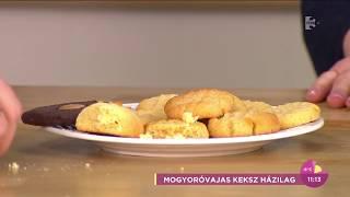 Isteni! Így készül a mogyoróvajas keksz házilag - tv2.hu/fem3cafe