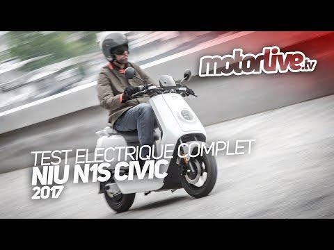 Giới thiệu xe máy điện N1S
