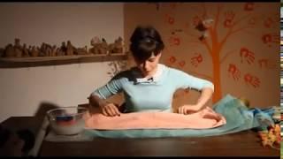 «Ручная работа». Клатч в технике валяния (27.02.2014)