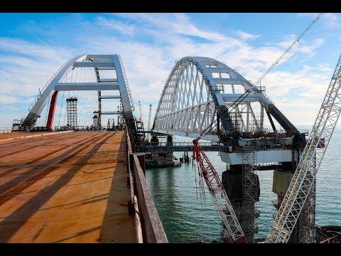 Крымский(Керченский)мост (декабрь 2017)