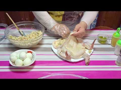 طبق-اليوم-دجاجة-محشية-بطريقة-خاصة---tunisian-cuisine-zakia---poulet-farcies