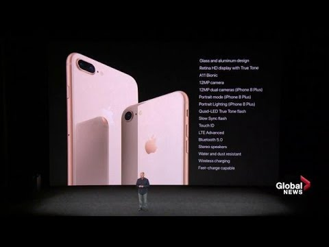 online store e2e80 bc8bf Apple iPhone 8 and 8Plus introduced with new features