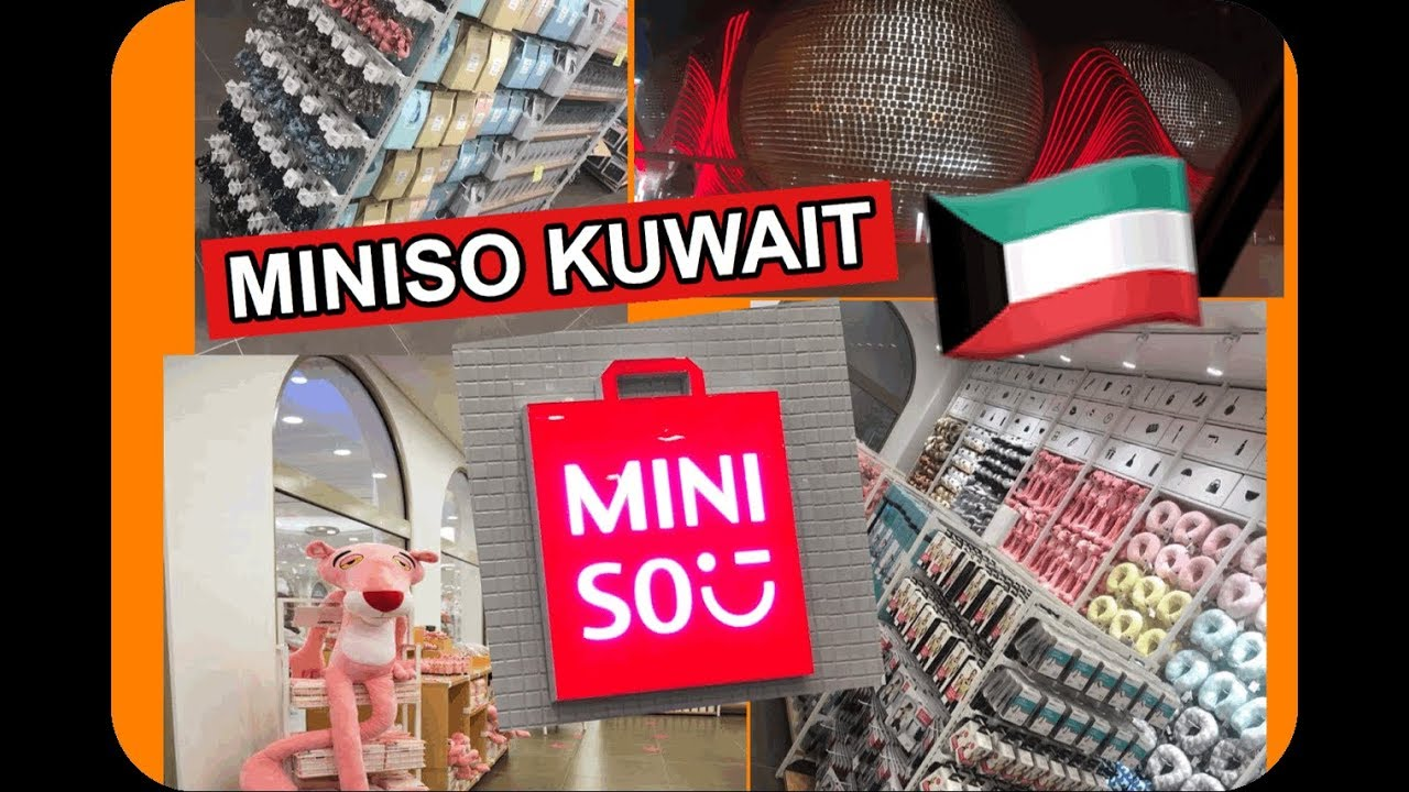 1st Miniso Store In Kuwait Avenues Phase 4 Youtube