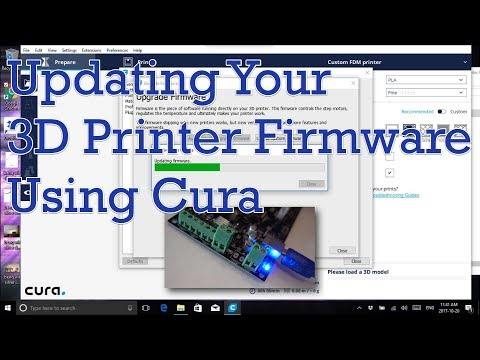 Updating Your 3D Printer Firmware Using Cura | 3D Printing