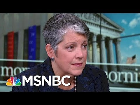 Former Secretary Janet Napolitano: Americans Are Desperate For A Pause | Morning Joe | MSNBC