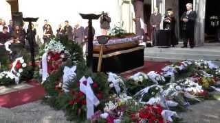 Váradi András temetése