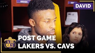 David Nwaba After Lakers Vs. Cavaliers, D'Angelo's 40 Point Game