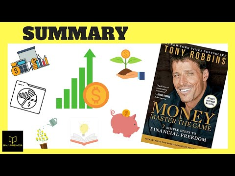 Money Master the Game by Tony Robbins | Animated Book Review
