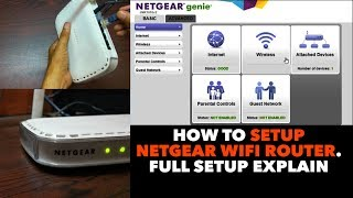 Netgear N150 JNR1010 wifi router   Full SetUp DIY, Step By Step explain. How To Configure Router.