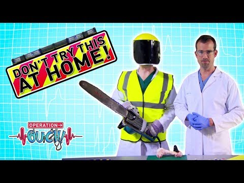 Science for kids - Don't Try This At Home! | Body Parts | Experiments for kids | Operation Ouch