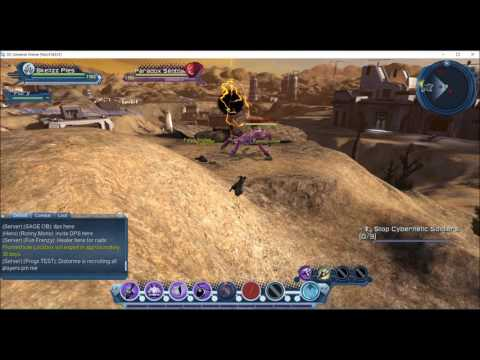 DCUO Age of Justice: Exploring War-Torn Village & Time-Torn Area 51