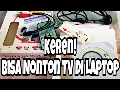 Inidia Tutorial Nonton TV Di Laptop Tanpa Internet + Unboxing Usb TV Tuner