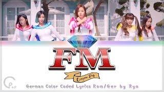 Crayon Pop (크레용팝) - FM - Deutsch / German Color Coded Lyrics…