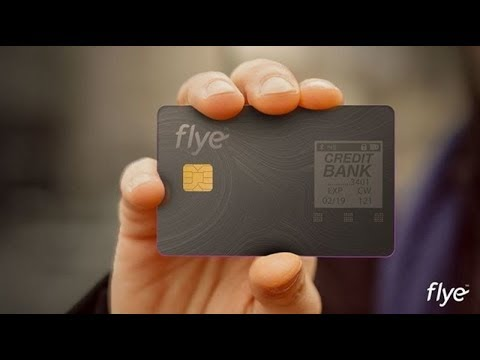 Flye Smart Card- One Digital Card That Stores All of Your Credit Cards!