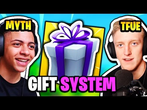 FaZe TFUE & MYTH REACT TO *NEW* GIFTING SYSTEM | Fortnite Daily Funny Moments Ep.137