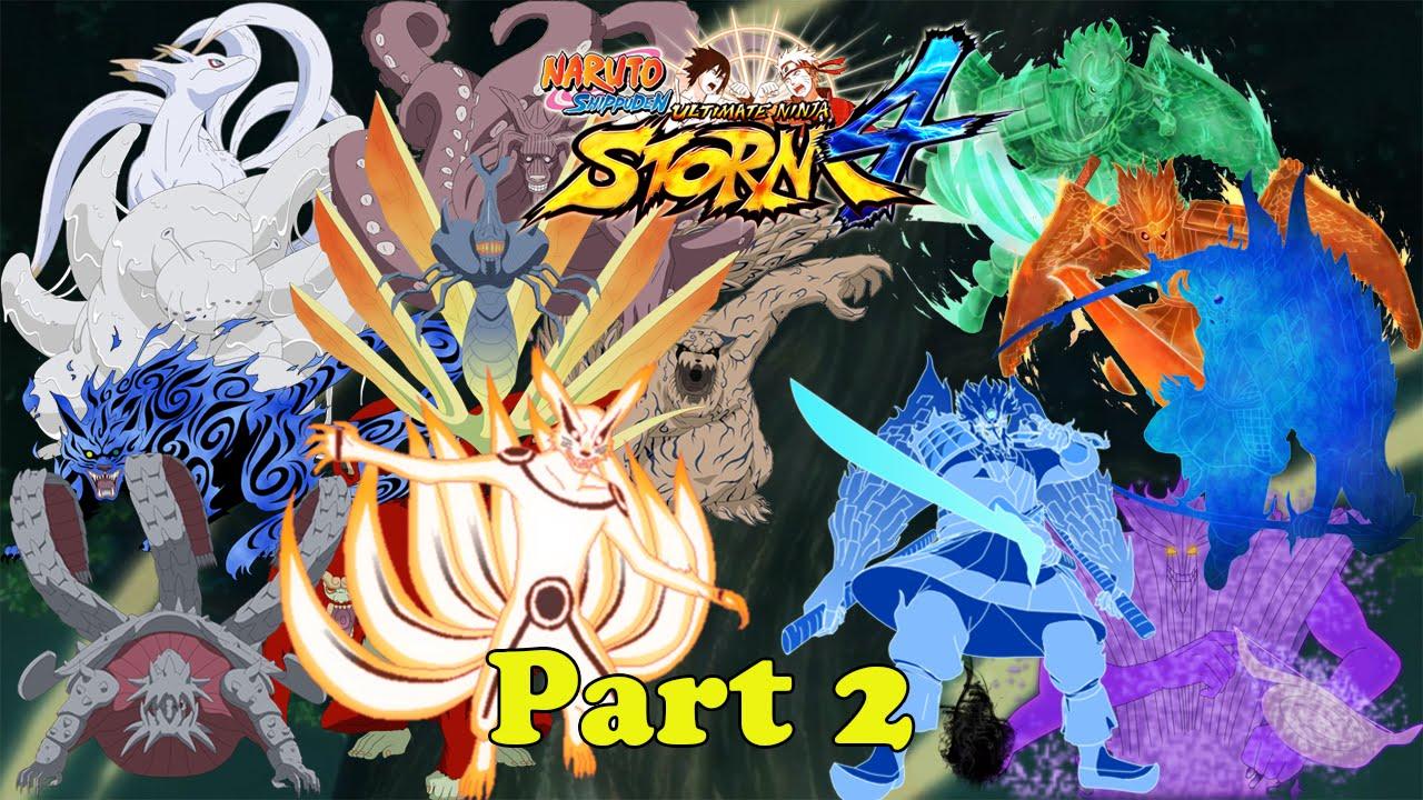 Naruto Shippuden Ultimate Ninja Storm 4 -Tailed Beasts VS ...