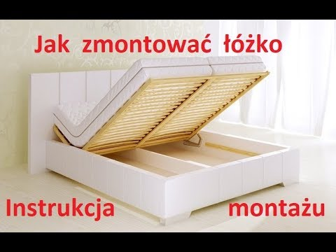 M K Foam Koło Assembly Instructions For Upholstered Beds With Container 80272 Kf