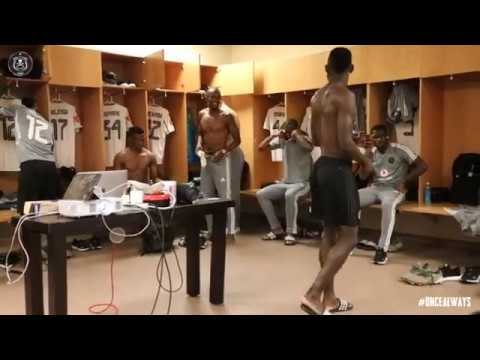 Orlando Pirates | Behind The Scenes | Dancing In The Dressing Room