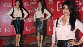 Sexy Shriya Saran At  'Capital Social' Launch