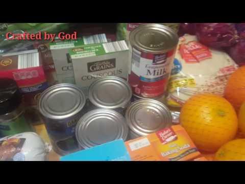 MORE GREAT SAVINGS!!! GROCERY HAUL (Kroger, Dollar Tree  Aldis, & Food Depot)🍎🍌🍅🍗🍞🍄
