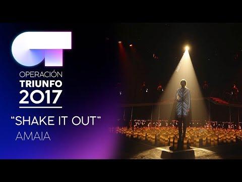 SHAKE IT OUT - Amaia   OT 2017   Gala 9