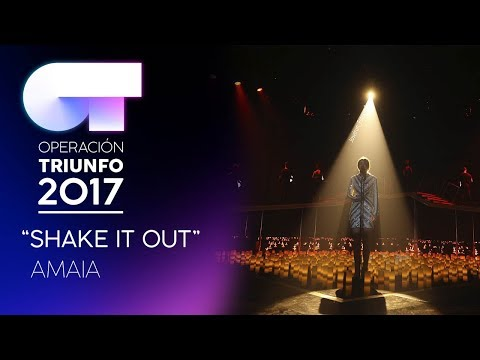 SHAKE IT OUT - Amaia | OT 2017 | Gala 9