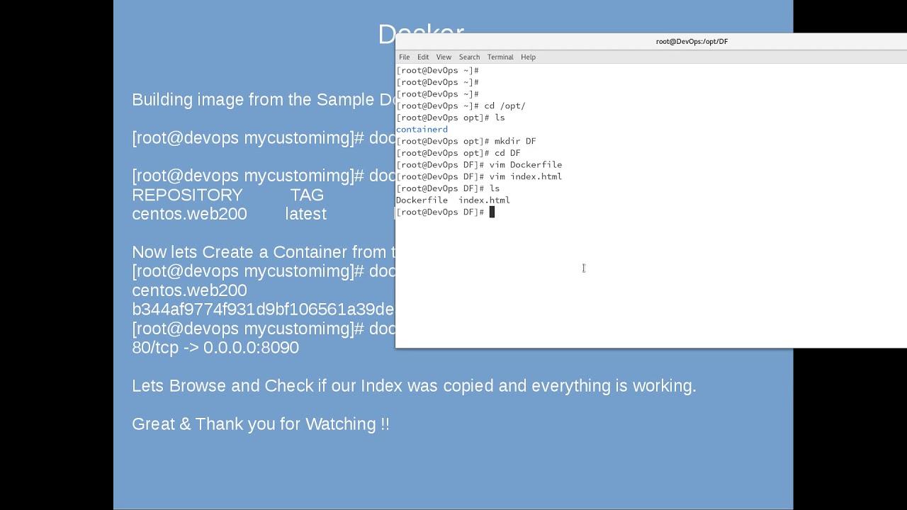 Dockerfile   Easy & Simple  Let's Learn DevOPs