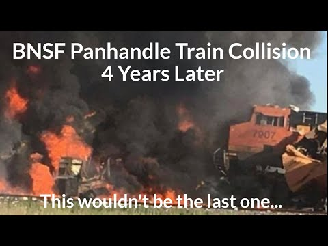 The 2016 BNSF Panhandle Train Collision 4 Years Later