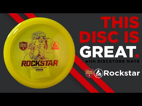 DiscMania Active Rockstar This Disc Is Great with DiscStore Nate Disc Golf Disc Review