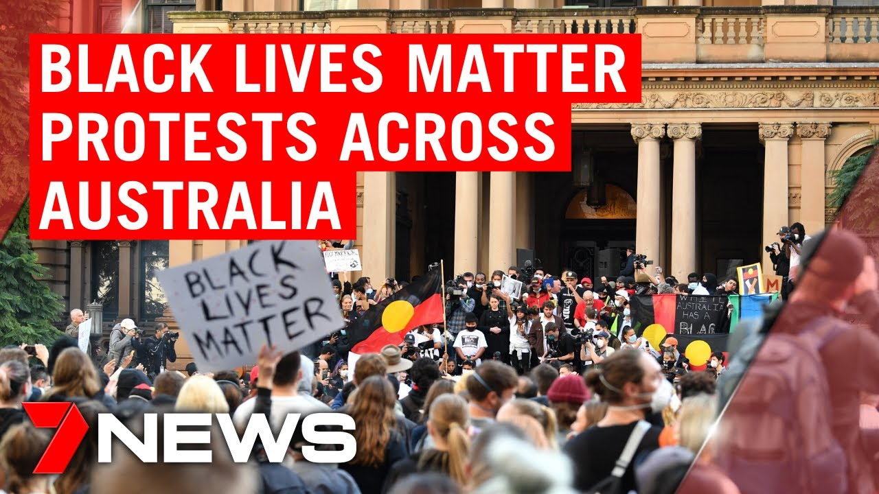Black Lives Matter protests kick-off across Australia to Highlight racism against